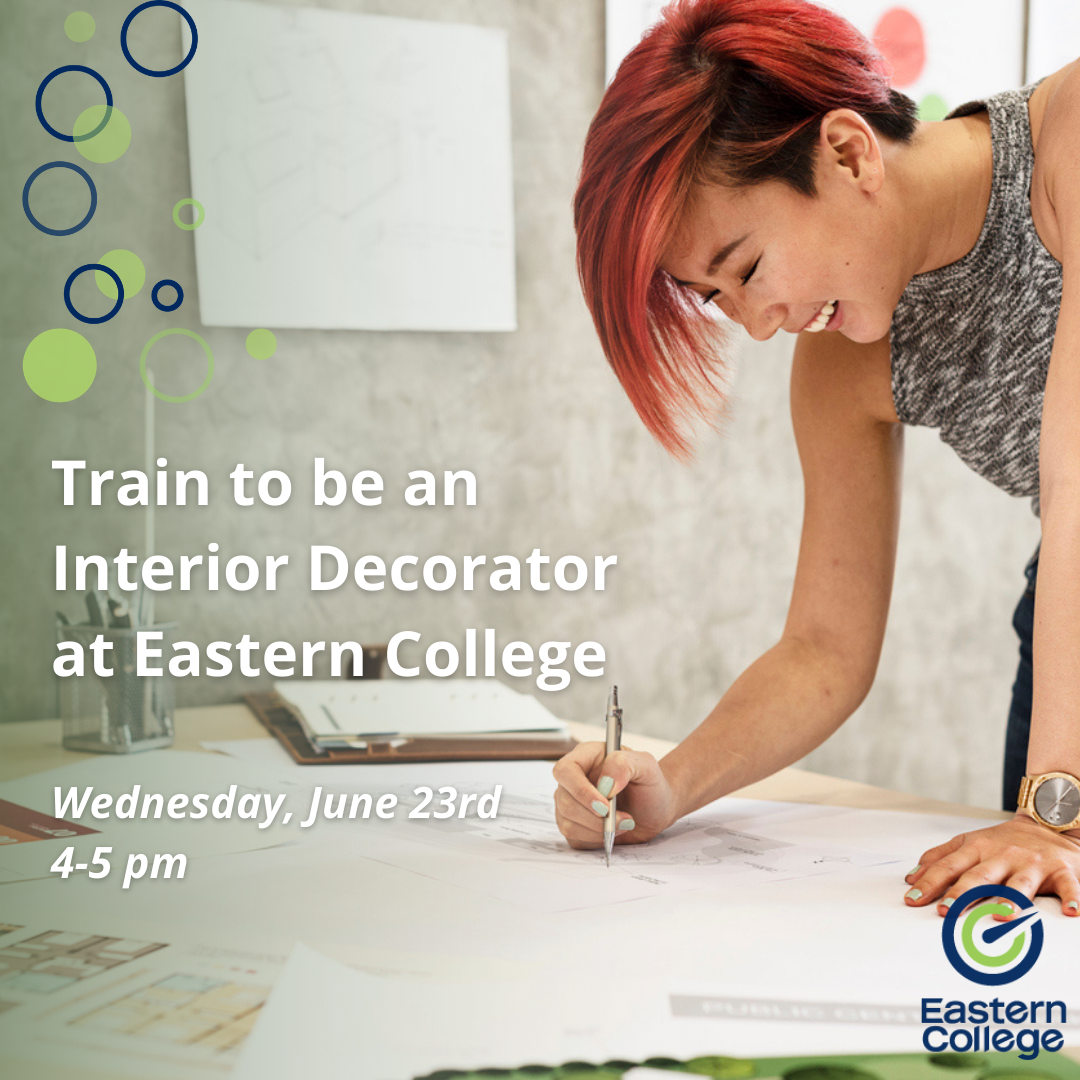 Train to be an Interior Decorator at Eastern College featured image
