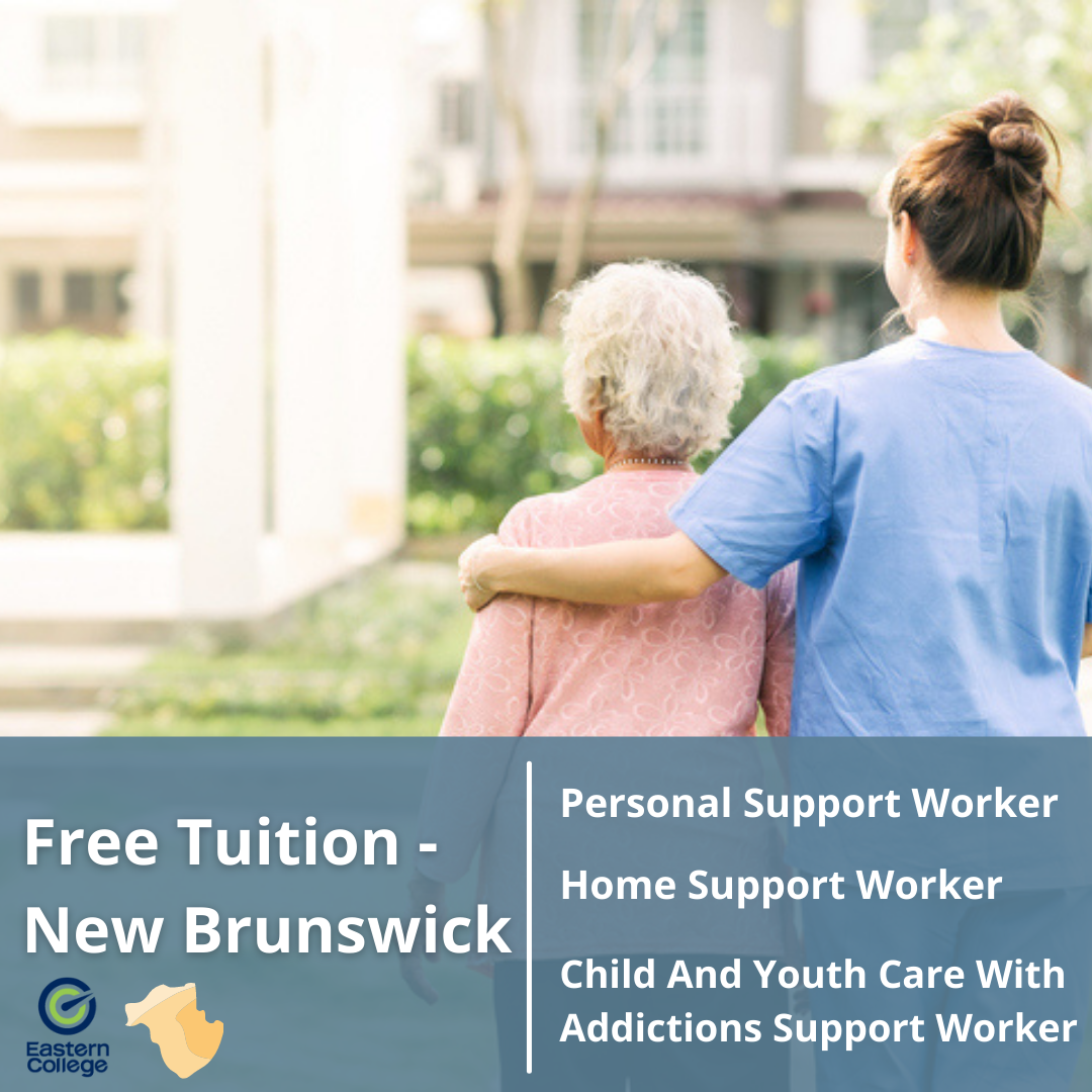 Government of New Brunswick Offers Free Tuition for Personal Support Worker and Human Services Sector featured image